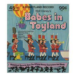Babes in Toyland Souvenir Record.