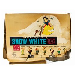 Snow White and the Seven Dwarfs Tea Set by Marx.