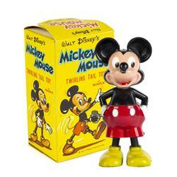 Mickey Mouse Twirling Tail Toy by Marx.