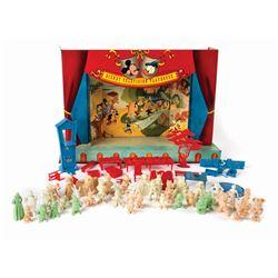 """Walt Disney's Television Playhouse"" Boxed Set by Marx."