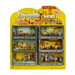 First Series Disneykins Play Set Store Display by Marx.