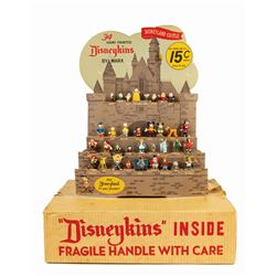 First Series Disneykins Store Display with Box by Marx.