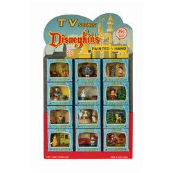 """Disneykins """"TV Scenes"""" Store Display by Marx."""