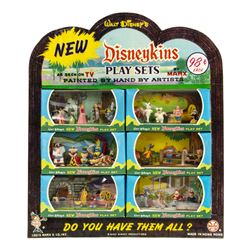 2nd Series Disneykins Play Sets Store Display by Marx.