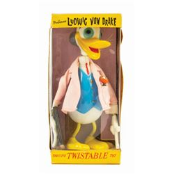 Ludwig Von Drake Twistable Toy by Marx.