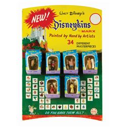"""New Disneykins"" Second Series Store Display by Marx."