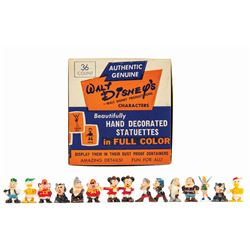 Set of (15) Marx Disneykins Capsule Toys in Box.