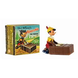 "Marx ""Pinocchio the Porter"" Friction Toy in Box."