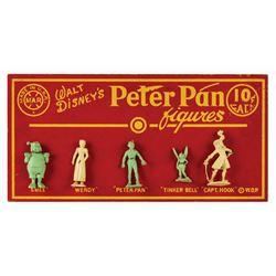 Marx Peter Pan Figures Display Sign.