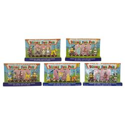 Collection of (5) Disney Fun Pals Unopened Sets.