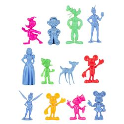 Collection of (12) Disney Figures by Marx.
