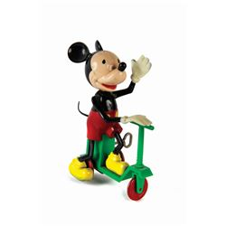 Mickey Mouse Scooter-Jockey Toy.