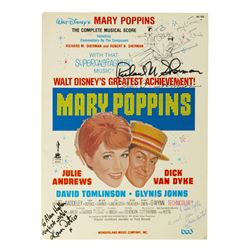 Mary Poppins Multi-Signed Complete Musical Score.