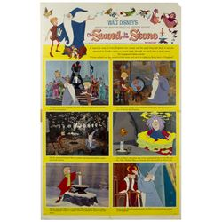 The Sword in the Stone One Sheet Poster.
