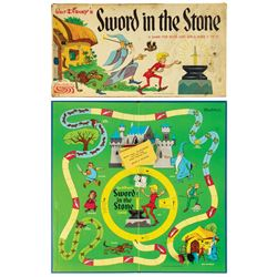Sword in the Stone Board Game.