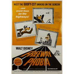 Freeway Phobia One Sheet Poster.