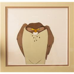 Original Winnie the Pooh Owl Production Cel.