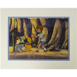 The New Adventures of Winnie the Pooh Production Cel.