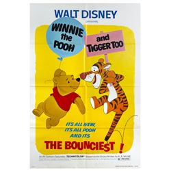 Original Winnie the Pooh and Tigger Too Poster.