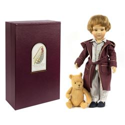 Christopher Robin & Pooh R. John Wright Dolls.