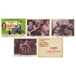 Set of (4) The Shaggy Dog Lobby Cards in Envelope.