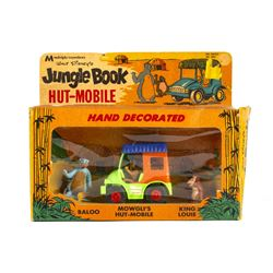 Jungle Book Mowgli's Hut-Mobile Toy in Box.