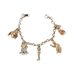 The Jungle Book 5-Charm Bracelet.