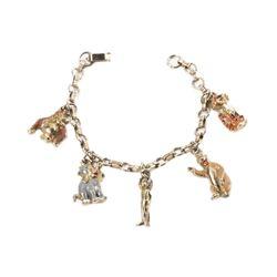 The Jungle Book 5-Charm Bracelet.