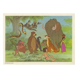 The Jungle Book Postcard Signed by Harris & Holloway.