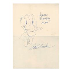 Original Donald Duck Drawing by Carl Barks.