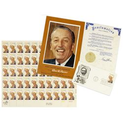 Multi-Signed Program from Walt Disney Stamp Ceremony.
