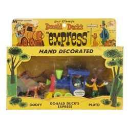 Donald Duck's Express Vehicle Toy in Box.