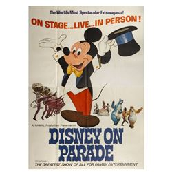 Disney on Parade Large Advertising Poster.