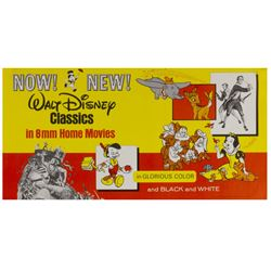 Walt Disney Classics 8mm Home Movies Poster.