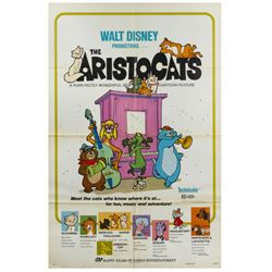 The Aristocats Re-Release Poster.