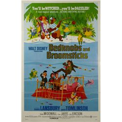 Bedknobs and Broomsticks One Sheet Poster.
