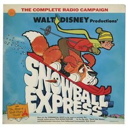 Snowball Express Radio Campaign Record.