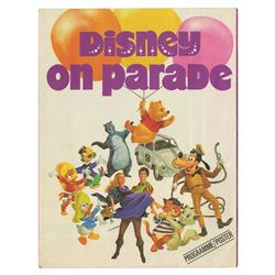 Disney on Parade Programme with Fold-Out Poster.