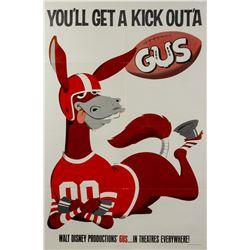 Original Gus One Sheet Poster.