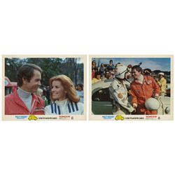 Pair of Herbie Goes to Monte Carlo Lobby Cards.