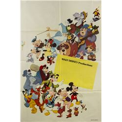 Walt Disney Productions Argentina Stock Poster.