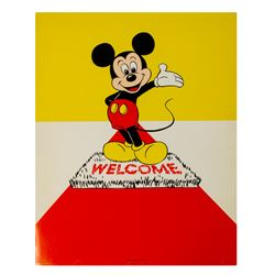 "Walt Disney Productions ""Welcome"" Packet."