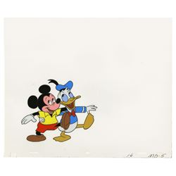 Original Mickey & Donald Production Cel.