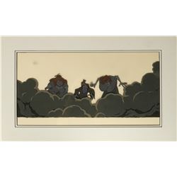 Original Production Cel from The Black Cauldron.