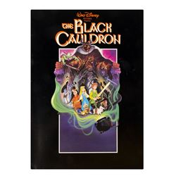The Black Cauldron Program Signed by Elmer Bernstein.