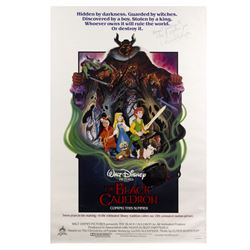The Black Cauldron Poster Signed by Lloyd Alexander.