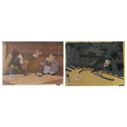 Pair of The Great Mouse Detective Production Cels.