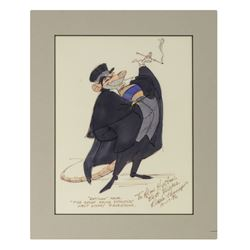The Great Mouse Detective Professor Ratigan Drawing.