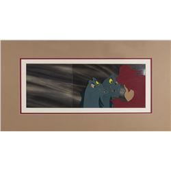 The Little Mermaid Panoramic Background & Cels.