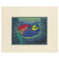 The Little Mermaid Television Show Cel & Drawing.